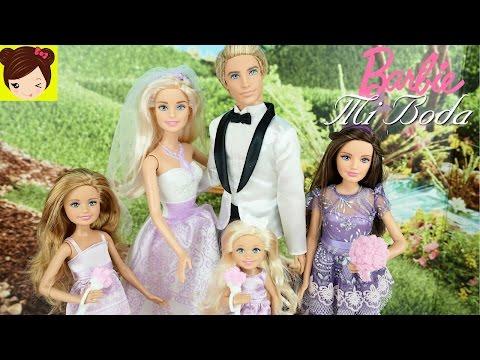 La Boda de Barbie y Ken - Historias con Muñecas | Los Juguetes de Titi
