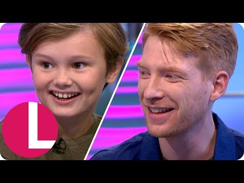 Domhnall Gleeson and Will Tilston on Winnie the Pooh's Painful Origins  Lorraine