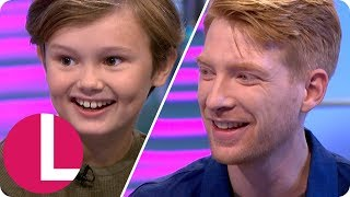 Domhnall Gleeson and Will Tilston on Winnie the Pooh's Painful Origins | Lorraine