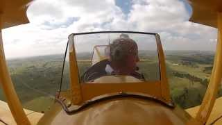 Superintendent Takes to the Skies to Promote Aviation Education