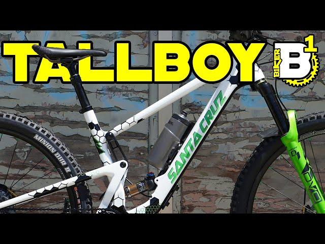 Bike Check Review - Custom Santa Cruz V4 Tallboy