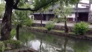 天皇の料理番で佐藤健(徳蔵)が撮影した倉敷白壁の町並みを撮影しました。