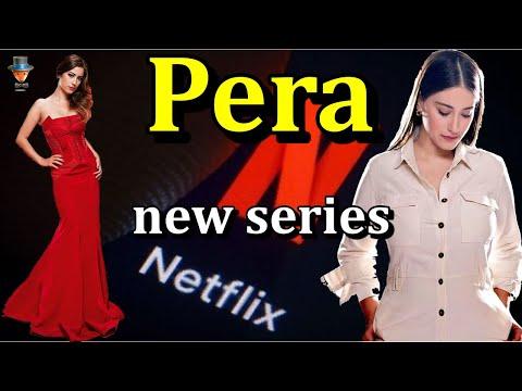 "Hazal Kaya in the new Netflix series ""Pera""?"