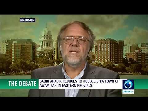 "Regime change needed in ""Saudi"" Arabia! Kevin Barrett debates pro-Saudi flack Jihad Mouracadeh"