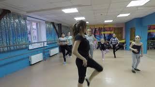 Классическая хореография фрагмент урока 3 Тазовой Влады январь 2019