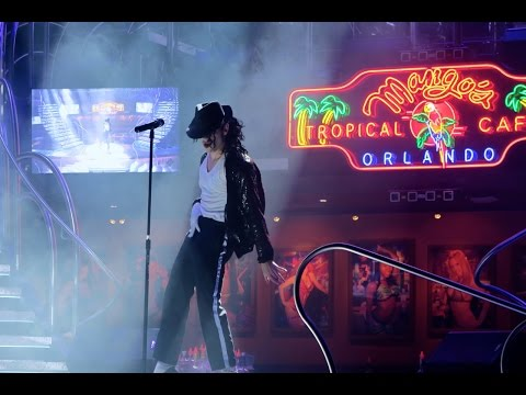 Awesome Dinner Show At Mangos Tropical Cafe Orlando With Michael Jackson!!