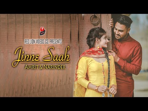 Jinne Saah | Punjabi Pre-Wedding 2018 | Amrit & Narinder | Red Lion Videos Co.