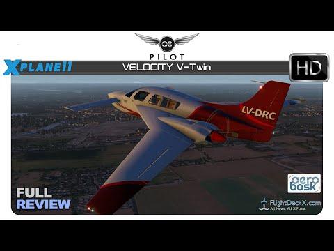 [X-Plane 11] Aerobask Velocity V-Twin | Full Review