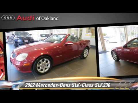2002 mercedes benz slk class slk230 oakland youtube for Mercedes benz of oakland