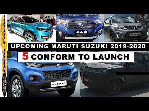 Upcoming Maruti Suzuki Cars In 2019 - 2020   S Presso Micro Suv, New Vitara 7 Seater