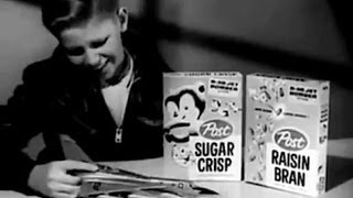 AWESOME cereal premium commercial featuring Lindberg's 1/128 scale ...