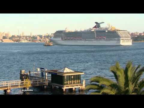 No room for booming cruise ship industry in Sydney harbour
