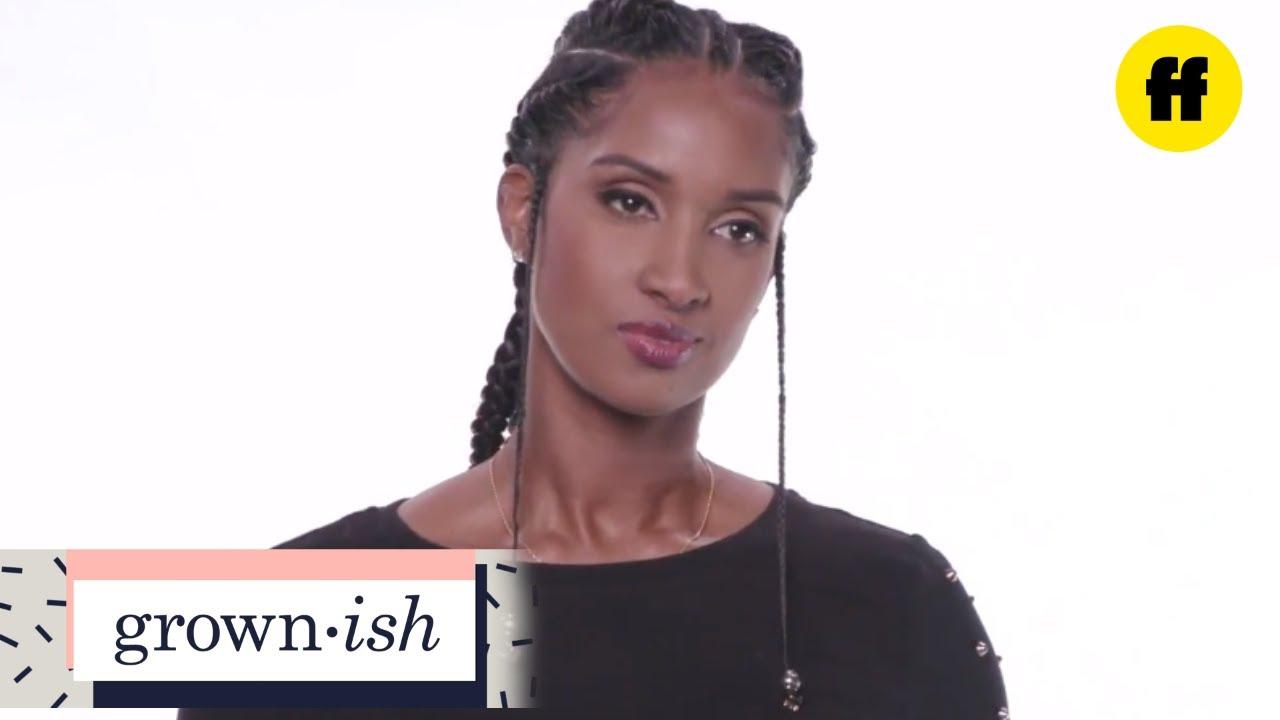 Grown Ish Hair Tutorials Ms Keys Braids Freeform Youtube