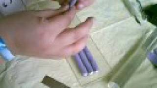 how to use polymer clay to make cane beads part 2