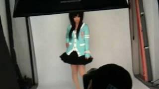 クキプロメンバーの宣伝撮影風景 http://ckp-shibugal.jp/ http://ckp-s...
