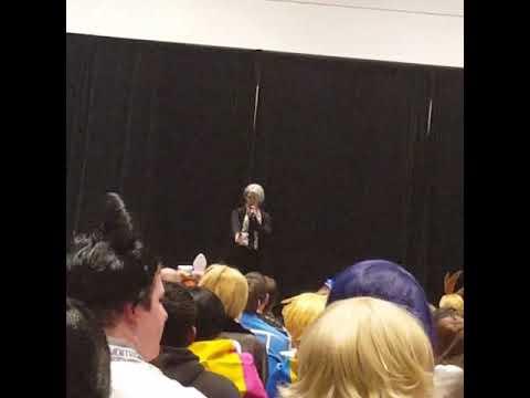 viktor singing at Anime boston 2018