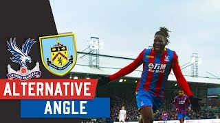 Crystal Palace v Burnley Match Highlights From Our Pitch-side Camera