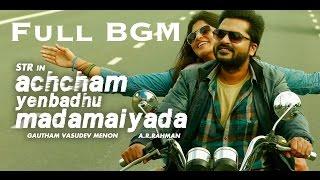 Gambar cover Achcham Yenbadhu Madamaiyada Full BGM | STR | A. R. Rahman