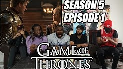 """Game of Thrones Season 5 Episode 1 """"The Wars to Come""""  Reaction/Review"""