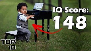 Top 10 Babies With The Highest IQ
