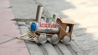 Awesome Train DIY - Toy Powered Battery Train