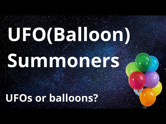 UFO(Balloon) Summoners