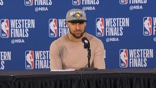Klay Thompson postgame reaction | Warriors vs Blazers Game 4 | 2019 NBA Playoffs