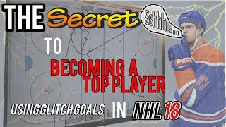 "The Secret to ""Being Elite"" at NHL 18 with Glitch Goals"