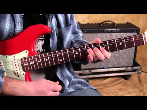Blues Guitar Lesson - How to Play Blues On Guitar - Bending and Vibrato Techniques