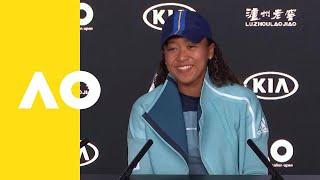 Naomi Osaka press conference (2R) | Australian Open 2019