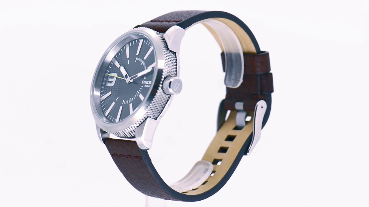 ba7fec166d9 Relógio Diesel Masculino Rasp DZ1802 0CN - Eclock - YouTube