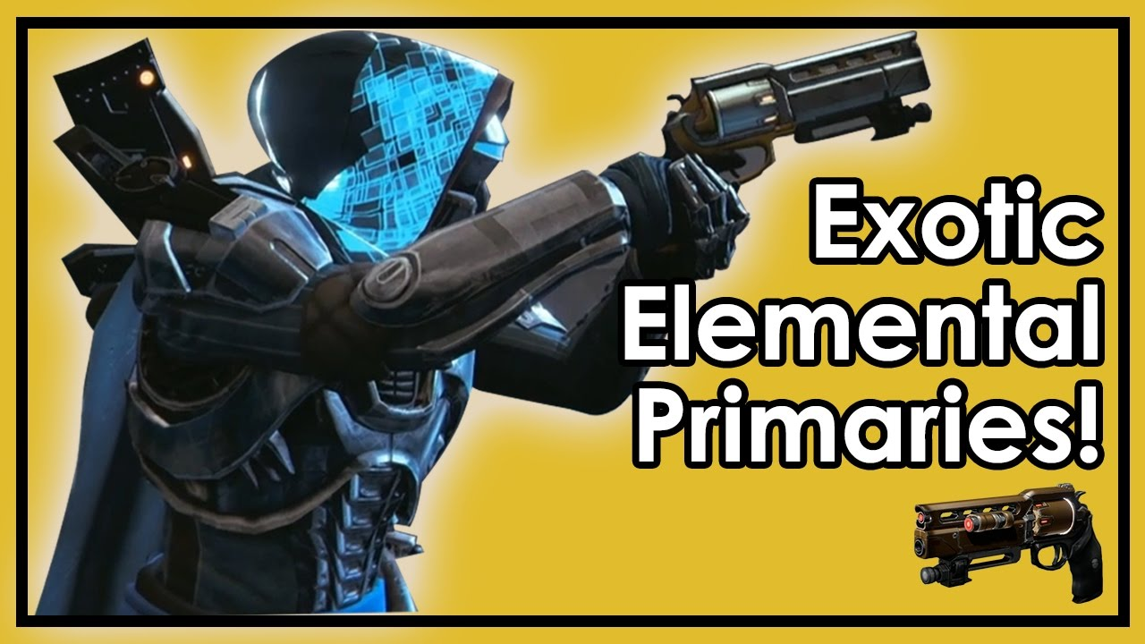 destiny age of triumph: exotic elemental primary weapons! new raid