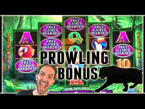 🎉🙀 Prowling Panther BONUS 🐈 + Many MORE! ✦ Slot Machine Pokies w Brian Christopher
