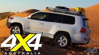 Toyota Land Cruiser 200 Sahara | Simpson Desert Road test | 4X4 Australia