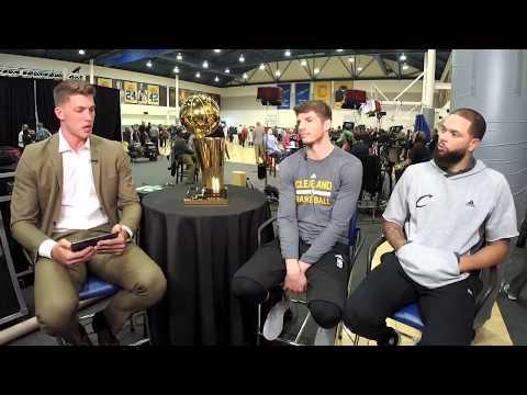Kyle Korver & Deron Williams' Facebook Live Chat Before Game 2