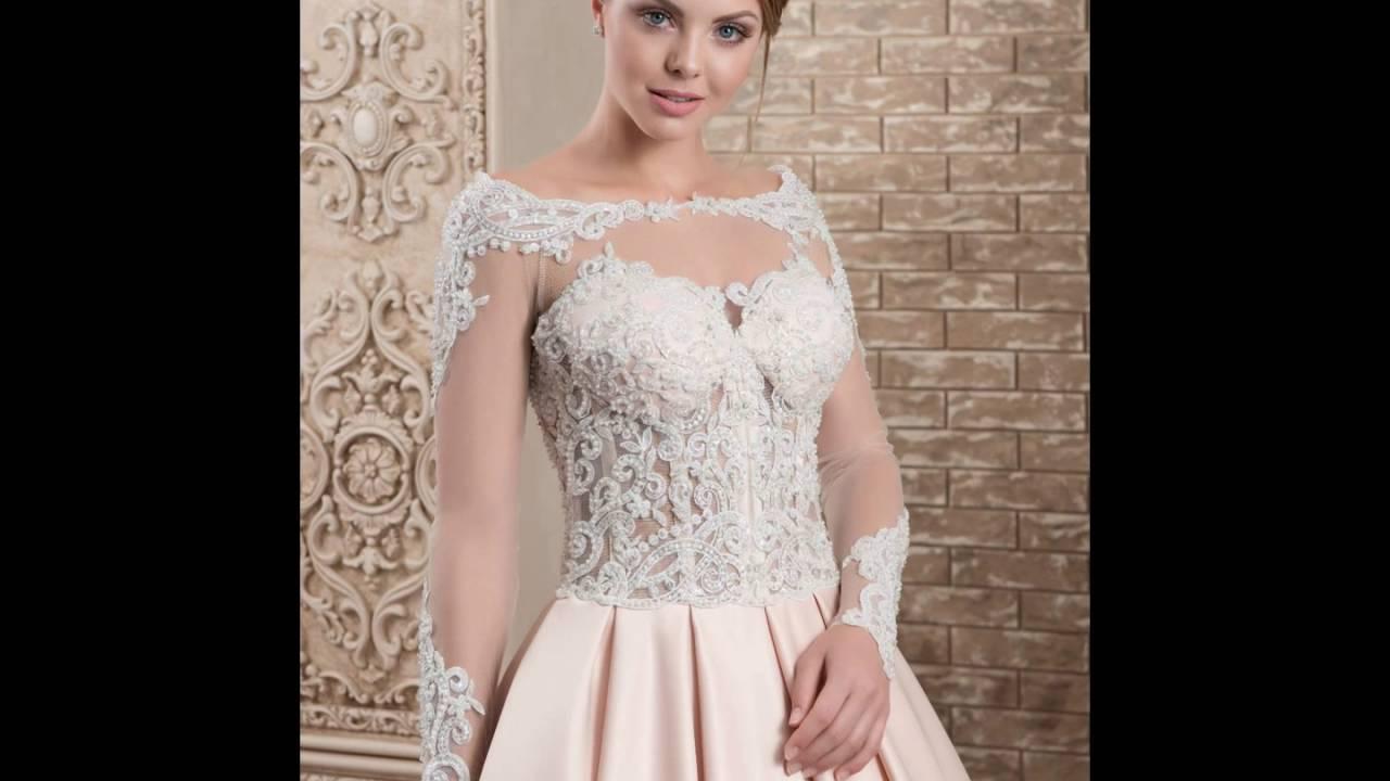Свадебные платья в Украине - YouTube