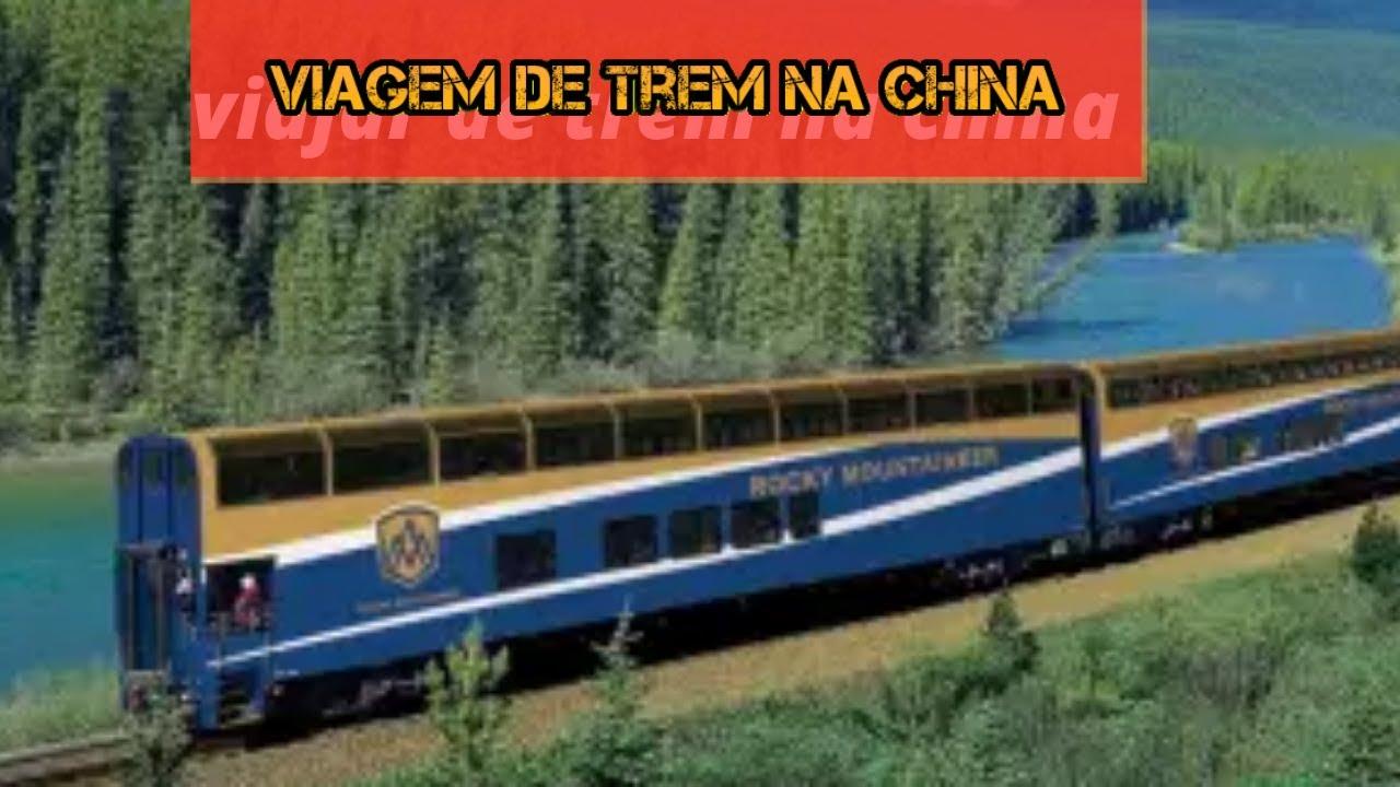 Como viajar de trem na china? Trem de alta velocidade na china ?