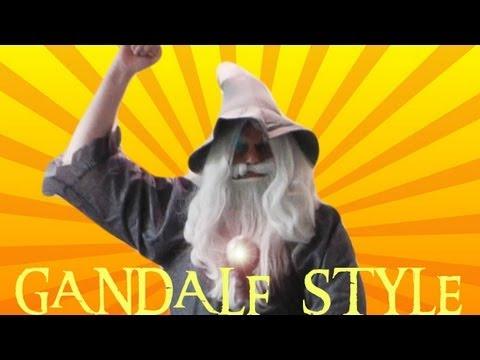 GANDALF STYLE | GANGNAM STYLE (강남스타일) M/V by PSY Parody | Screen Team