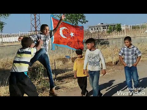 Türk Bayrağını Kimse İndiremez - Çocuk Versiyonu (Amatör KISA FİLM 2017)