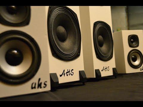 Изготовление двухполосных АС закрытого типа для домашнего аудио