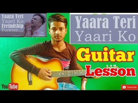 Yaara Teri Yaari Ko |Rahul Jain|-Easy Guitar Chords/Lessons/Tutorial/Guitar Cover..By-Merajul