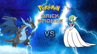 Roblox :Pokemon Brick Bronze Part 9 | Mega Charizard vs Mega Gardevoir