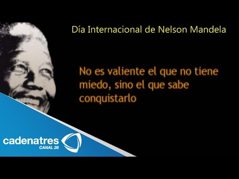 Celebra Sudáfrica Día Internacional de Mandela / Mandela International Day