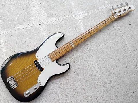 Fender Sting Precision Bass Demo