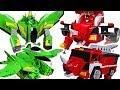 Jurassic Cops Evolution Jutera, Jutops dinosaur, car, robot 3 transformers appeared! #DuDuPopTOY