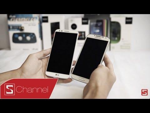 Schannel - So sánh Galaxy S4 vs LG G2: Liệu LG G2 có lật đổ được Galaxy S4 - CellphoneS