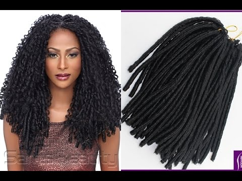 Crochet Braids On Natural Hair - YouTube