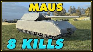 World of Tanks | Maus - 8 Kills - 7.7K Damage