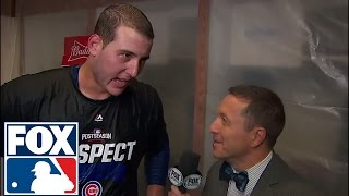 Anthony Rizzo on the Cubs' 9th inning comeback: We never quit | 2016 NLDS | FOX SPORTS