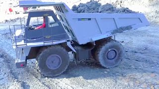 RC BIG CONSTRUCTION SITE, RC DUMP TRUCK ACCIDENT